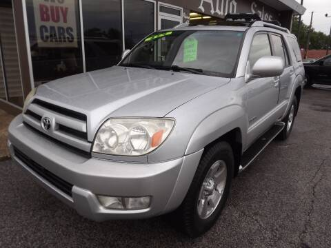 2003 Toyota 4Runner for sale at Arko Auto Sales in Eastlake OH