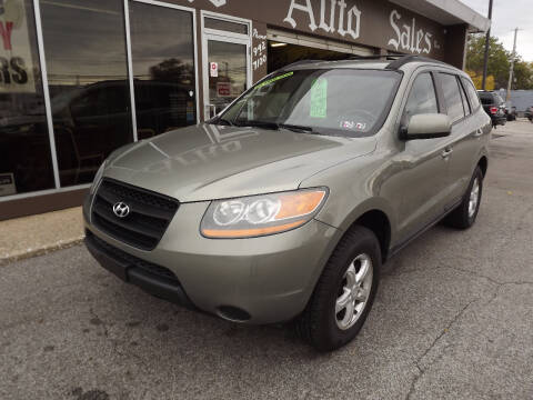 2008 Hyundai Santa Fe for sale at Arko Auto Sales in Eastlake OH
