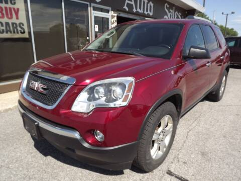 2011 GMC Acadia for sale at Arko Auto Sales in Eastlake OH