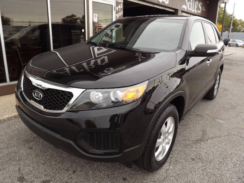2012 Kia Sorento for sale at Arko Auto Sales in Eastlake OH