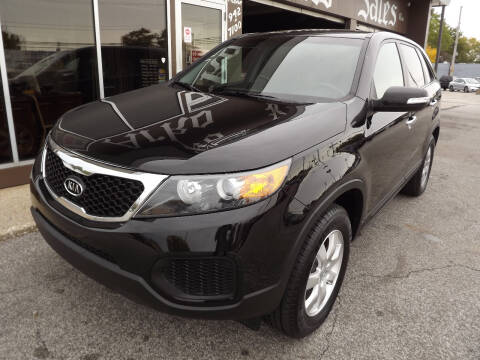2012 Kia Sorento for sale at Arko Auto Sales in Eastlake OH