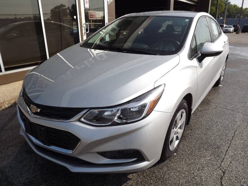 2016 Chevrolet Cruze for sale at Arko Auto Sales in Eastlake OH