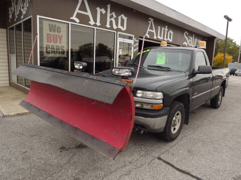 2001 Chevrolet Silverado 1500 for sale at Arko Auto Sales in Eastlake OH