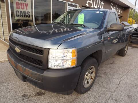 2008 Chevrolet Silverado 1500 for sale at Arko Auto Sales in Eastlake OH