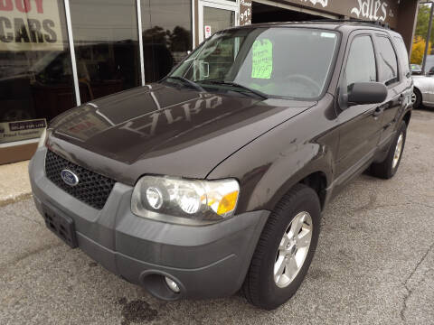 2007 Ford Escape for sale at Arko Auto Sales in Eastlake OH
