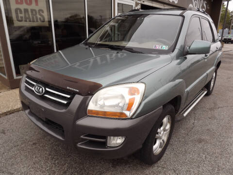 2008 Kia Sportage for sale at Arko Auto Sales in Eastlake OH