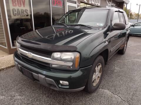 2003 Chevrolet TrailBlazer for sale at Arko Auto Sales in Eastlake OH