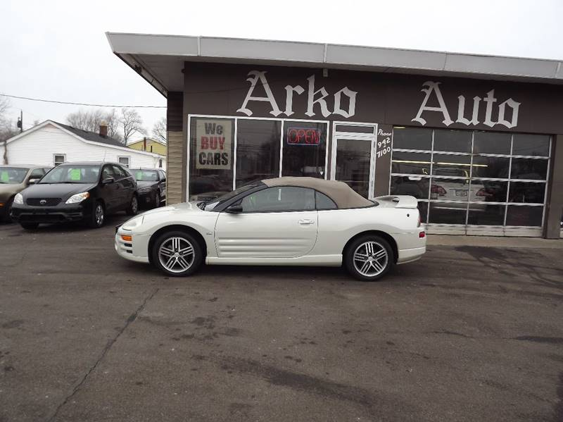 2005 Mitsubishi Eclipse Spyder GTS 2dr Convertible - Eastlake OH