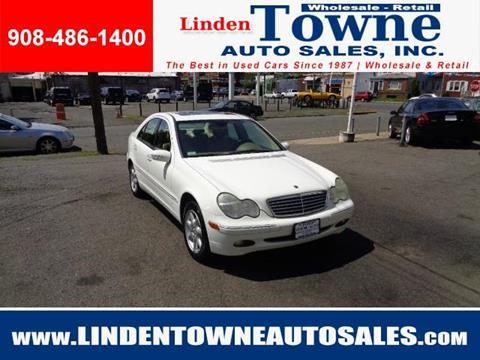 2002 Mercedes-Benz C-Class for sale in Linden, NJ
