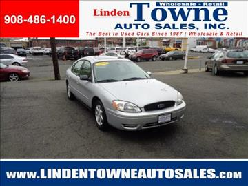 2006 Ford Taurus for sale in Linden, NJ