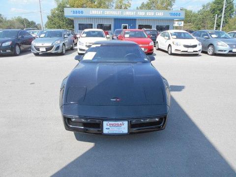 1987 Chevrolet Corvette for sale in Lebanon, MO