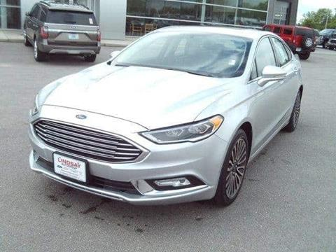2018 Ford Fusion for sale in Lebanon, MO