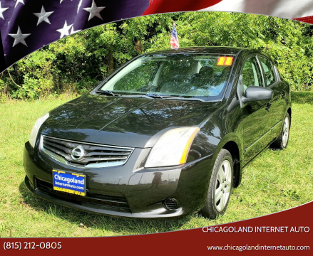 2011 Nissan Sentra for sale at Chicagoland Internet Auto - 410 N Vine St New Lenox IL, 60451 in New Lenox IL