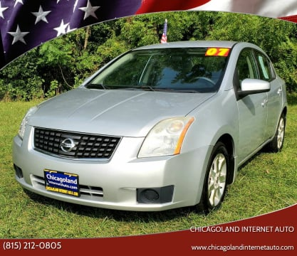 2007 Nissan Sentra for sale at Chicagoland Internet Auto - 410 N Vine St New Lenox IL, 60451 in New Lenox IL