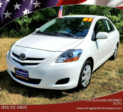 2007 Toyota Yaris for sale at Chicagoland Internet Auto - 410 N Vine St New Lenox IL, 60451 in New Lenox IL