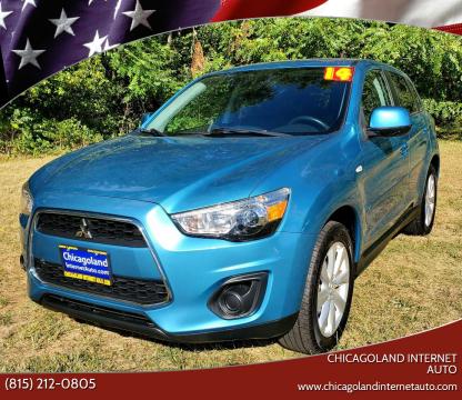 2014 Mitsubishi Outlander Sport for sale at Chicagoland Internet Auto - 410 N Vine St New Lenox IL, 60451 in New Lenox IL