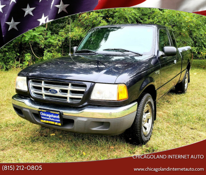 2001 Ford Ranger for sale at Chicagoland Internet Auto - 410 N Vine St New Lenox IL, 60451 in New Lenox IL