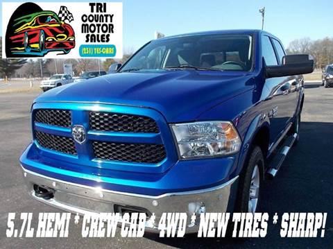 Ram Used Cars Pickup Trucks For Sale Howard City Tri County Motor Sales