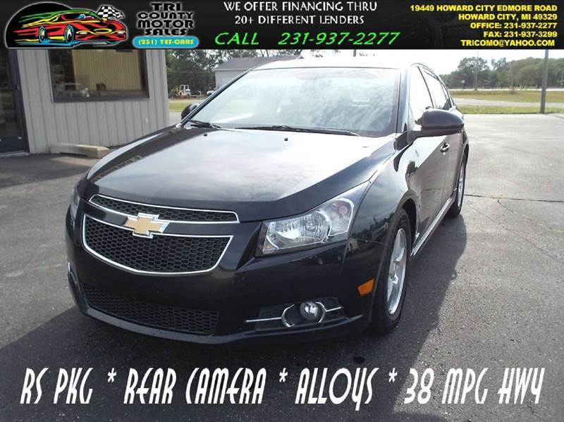 2013 Chevrolet Cruze 1LT Auto 4dr Sedan W/1SD   Howard City MI