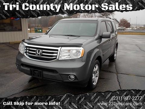 Tri County Honda >> Honda Pilot For Sale In Howard City Mi Tri County Motor Sales