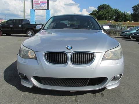 2008 BMW 5 Series for sale at FUTURE AUTO in Charlotte NC