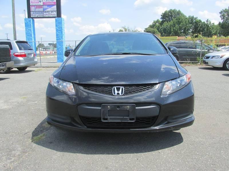 2012 Honda Civic EX 2dr Coupe 5A - Charlotte NC