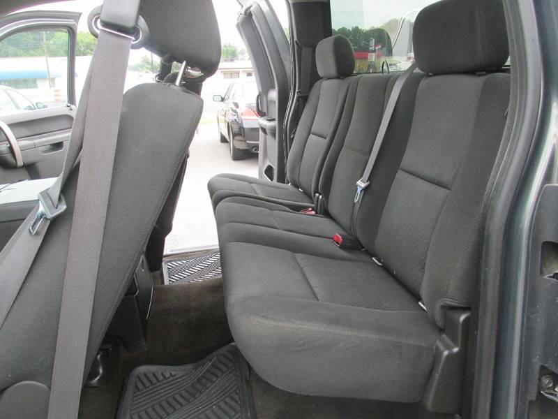 2011 Chevrolet Silverado 1500 4x2 LT 4dr Extended Cab 8 ft. LB - Charlotte NC