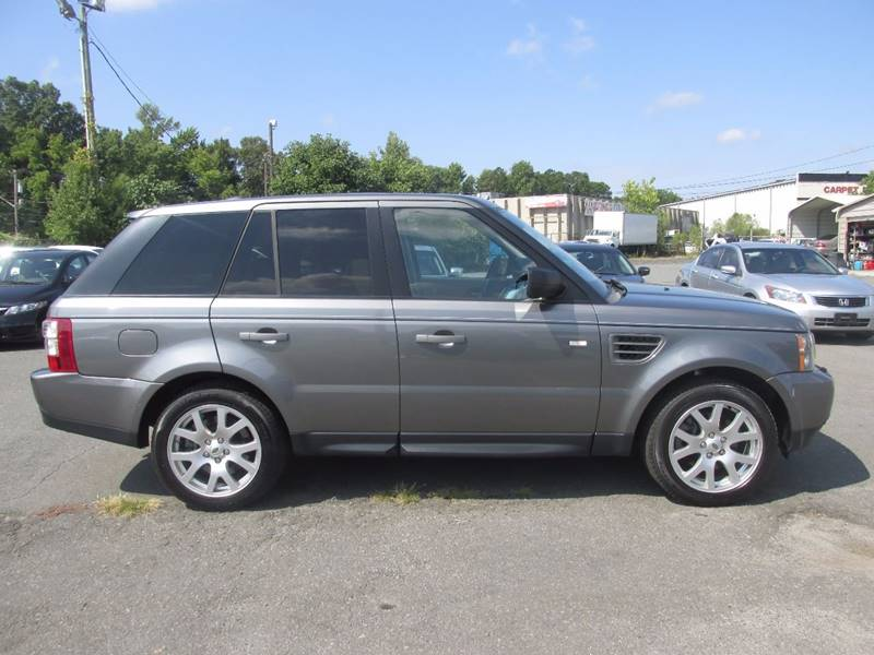 2009 Land Rover Range Rover Sport 4x4 HSE 4dr SUV w/ Luxury Package - Charlotte NC