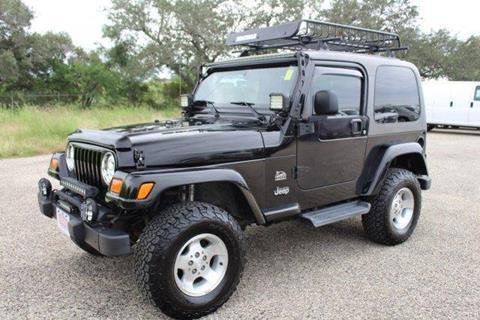 2003 Jeep Wrangler for sale in Cuero, TX