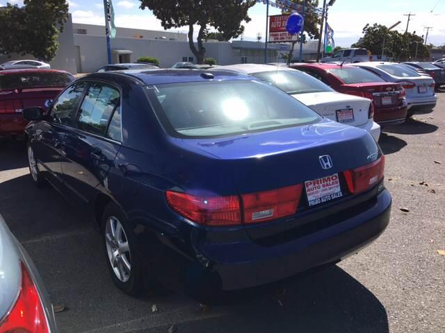 2005 Honda Accord EX V-6 4dr Sedan - Merced CA