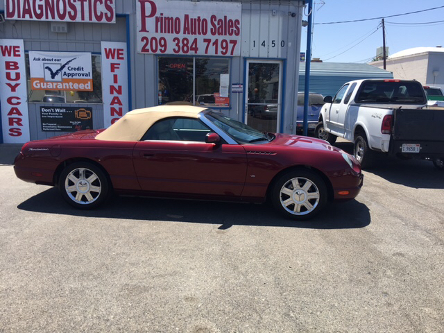 2004 Ford Thunderbird Deluxe 2dr Convertible - Merced CA