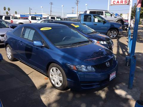 2010 Honda Civic for sale at Primo Auto Sales in Merced CA
