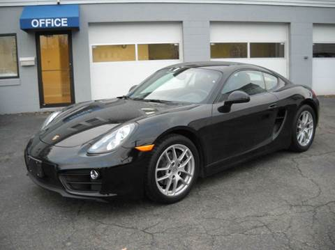2015 Porsche Cayman for sale at Best Wheels Imports in Johnston RI