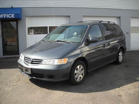 2004 Honda Odyssey for sale at Best Wheels Imports in Johnston RI