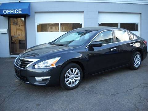 2015 Nissan Altima for sale at Best Wheels Imports in Johnston RI
