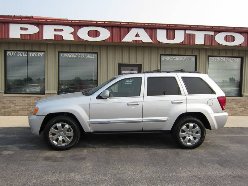 Great 2008 Jeep Grand Cherokee For Sale At Pro Auto Sales In Carroll IA