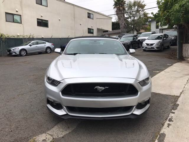 2016 Ford Mustang GT Premium 2dr Convertible - San Diego CA