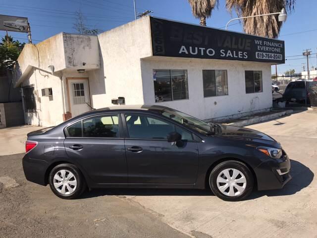2016 Subaru Impreza AWD 2.0i 4dr Sedan CVT - San Diego CA