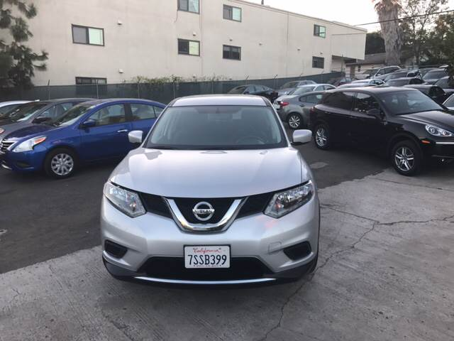 2016 Nissan Rogue S 4dr Crossover - San Diego CA