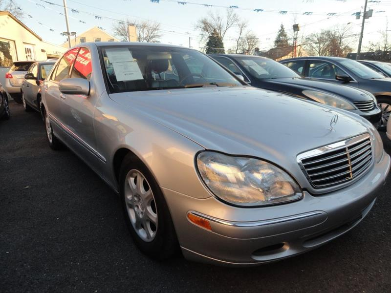 2000 Mercedes Benz S Class S 430 In Linden Nj Park Avenue Auto