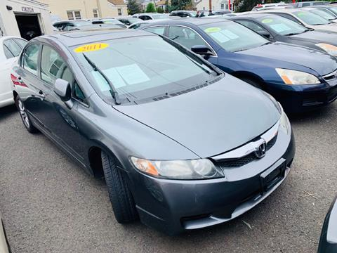 2011 Honda Civic for sale at Park Avenue Auto Lot Inc in Linden NJ