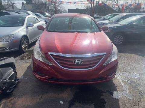 2012 Hyundai Sonata for sale at Park Avenue Auto Lot Inc in Linden NJ