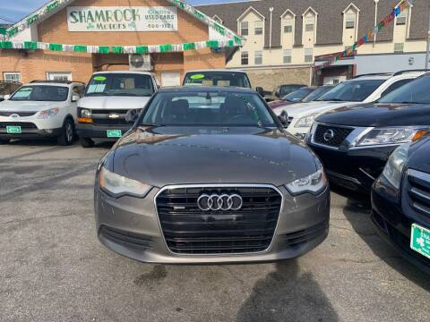 2012 Audi A6 for sale at Park Avenue Auto Lot Inc in Linden NJ