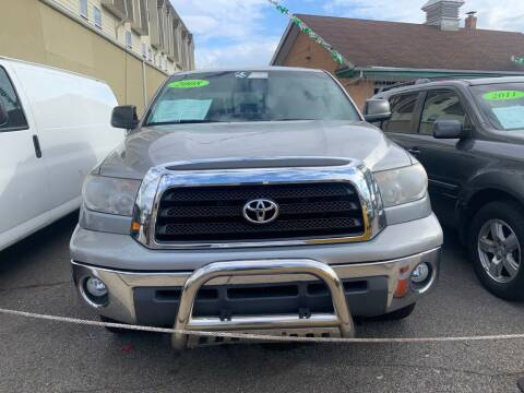 2008 Toyota Tundra for sale at Park Avenue Auto Lot Inc in Linden NJ