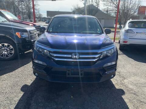 2016 Honda Pilot EX w/Honda Sensing for sale at Park Avenue Auto Lot Inc in Linden NJ