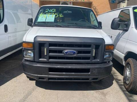 2012 Ford E-Series Cargo for sale at Park Avenue Auto Lot Inc in Linden NJ