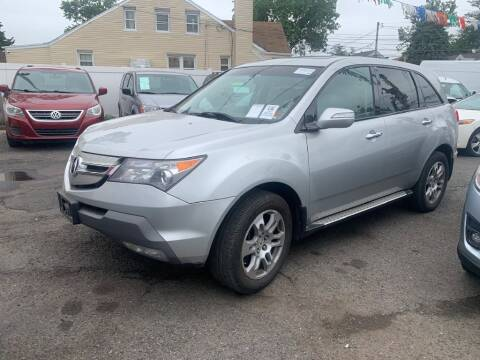 2009 Acura MDX for sale at Park Avenue Auto Lot Inc in Linden NJ