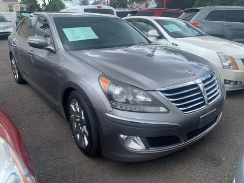 2011 Hyundai Equus for sale at Park Avenue Auto Lot Inc in Linden NJ