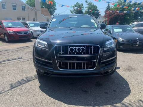 2015 Audi Q7 for sale at Park Avenue Auto Lot Inc in Linden NJ