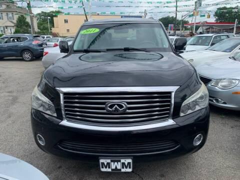 2011 Infiniti QX56 for sale at Park Avenue Auto Lot Inc in Linden NJ